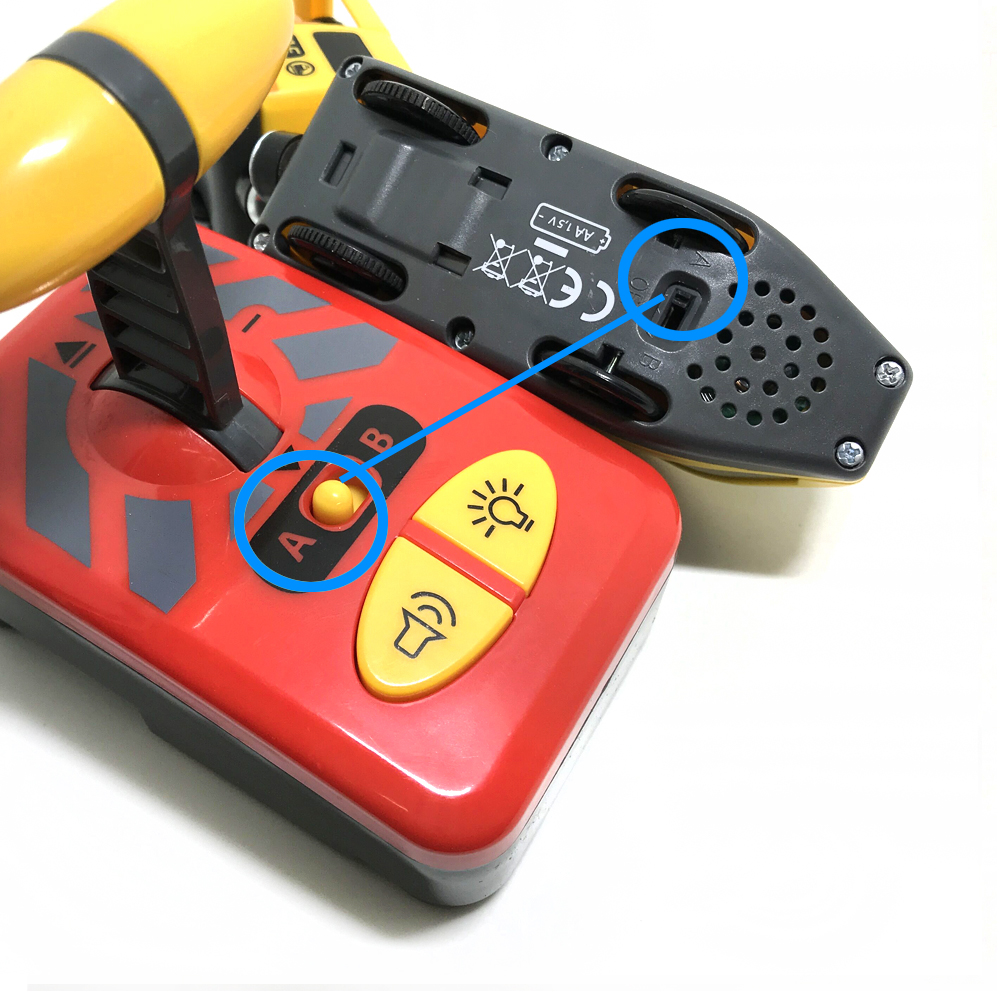 controle remoto compatível com briado vermelho e branco