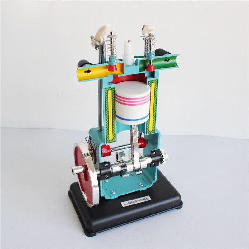Effizient Studenten Studie Benzin Motor Modelle Vier-hub Motor Modell Physik Experiment Lehrer Physik Lehre Instrument