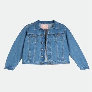 Image 5 - ผู้หญิง Basic Coats ฤดูใบไม้ร่วง Denim แจ็คเก็ต Vintage เย็บปักถักร้อยแขนยาวหลวมพลัสขนาด 5XL กางเกงยีนส์ฤดูหนาวสบายๆ Outwear