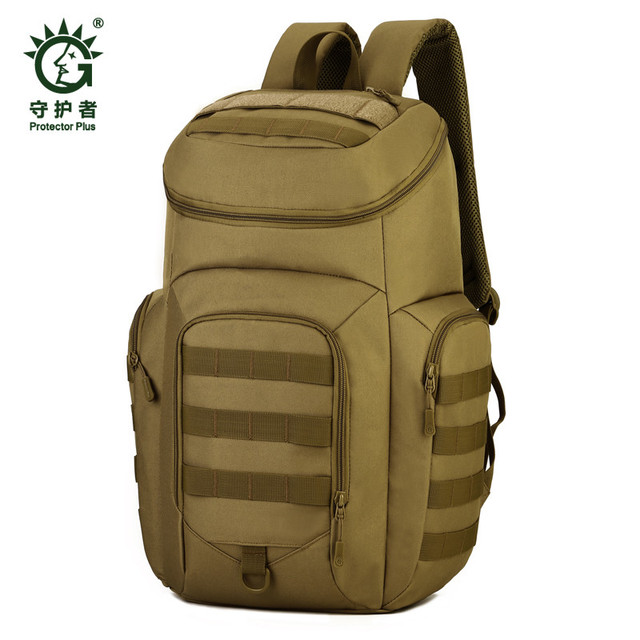Для Мужчин's Сумки нейлоновый рюкзак Сумки 40 л туристический водонепроницаемые военные высокого качества 17 дюймов Сумка для ноутбука одежда- износостойкие модные камуфляжные