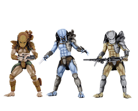 Game NECA AVP Alien VS Predator Arcade Hunter Mad Warrior Predator Ultimate Action Figure Collectible Doll