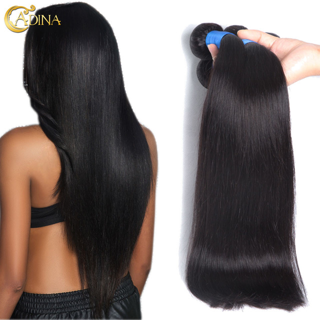 Mink Brazilian Virgin Hair Straight 4bundle Deals