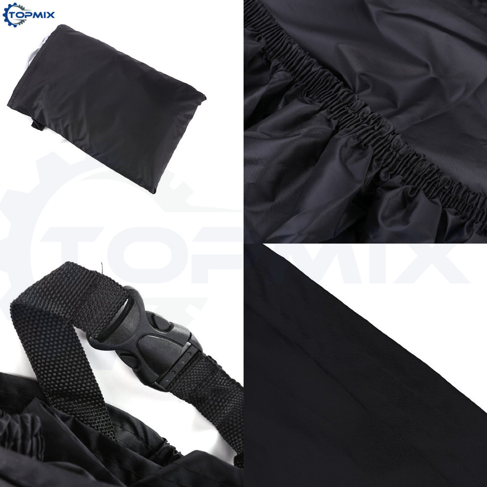 Motorcycle cover black 5