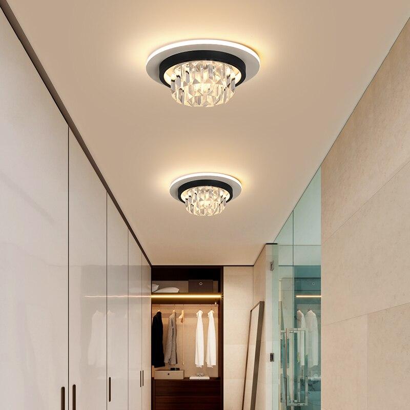 Modern led chandeliers crystal living room hanging lighting overhead lights for home bedroom light cloakroom chandelier lamp