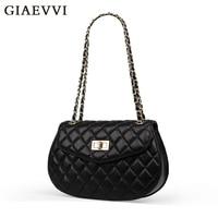 GIAEVVI Women Famous Brand Design Crossbody Bag Genuine Leather Mini Women Messenger Bags 2016 Bolsa Feminina