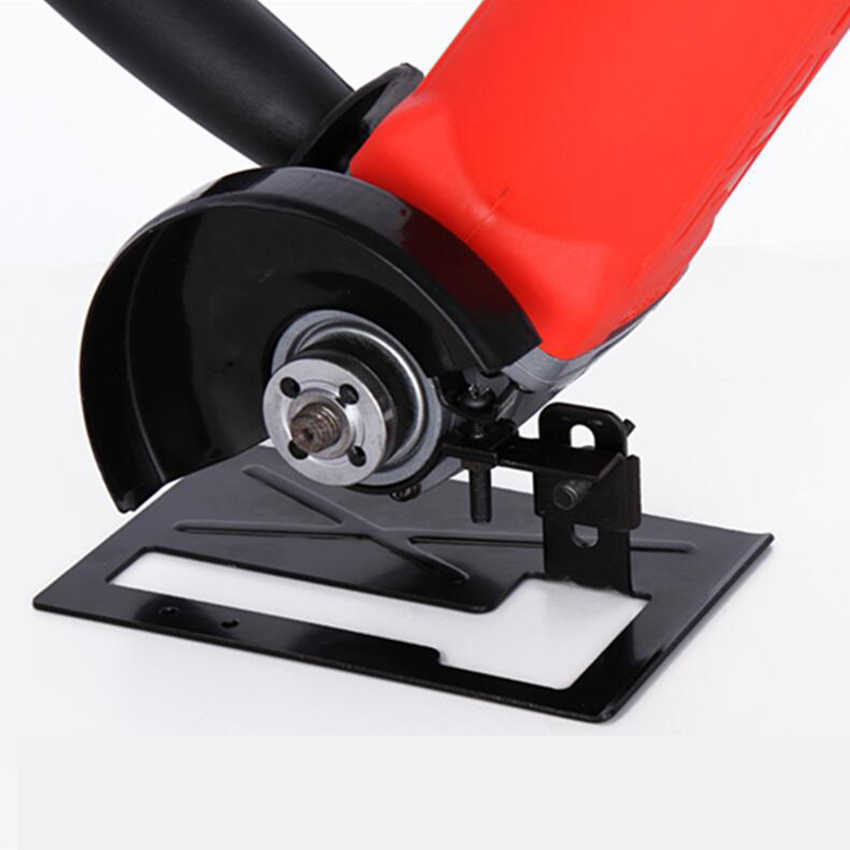 Angle Grinder Dedicated Cutting Seat Stand Machine Bracket Rod Table Cover Shield Safety Woodworking Tools Accessories