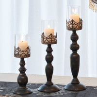 European Romantic Wedding Candlestick Candlelight Dinner Items Furnishing Articles Table Ancient Ways American Candle Holders