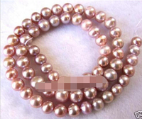 shitou 00653 6mm Beautiful Freshwater Pearl Loose Beads 14.5'' 5pc
