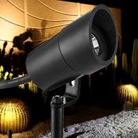 3W LED Outdoor Waterproof Garden Decoration Pole Post LED Garden Spot Light Path Spike Lawn Lamp