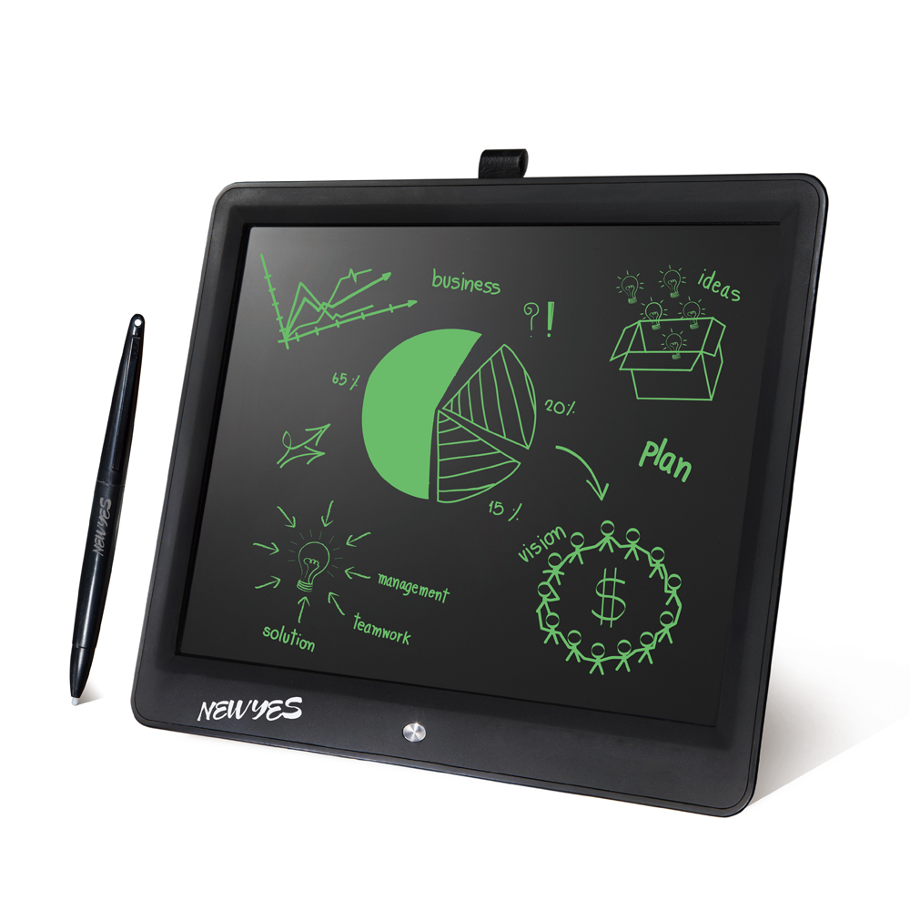 "NEWYES 15"" LCD Writing Tablet Erase ebook reader Drawing Tablet Electronic Paperless LCD Handwriting Kids Gift Writing Board Pad"