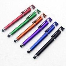Многофункциональный стилус для мобильного телефона+ Шариковая ручка+ подставка для мобильного телефона, Подарочная реклама, логотип на заказ, изображение для Iphone 6 7
