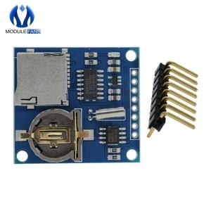 Mini Data Logger Logging Shield Module Board For Arduino For Raspberry Pi Recorder Shield SD Card 3.3V Regululator(China)