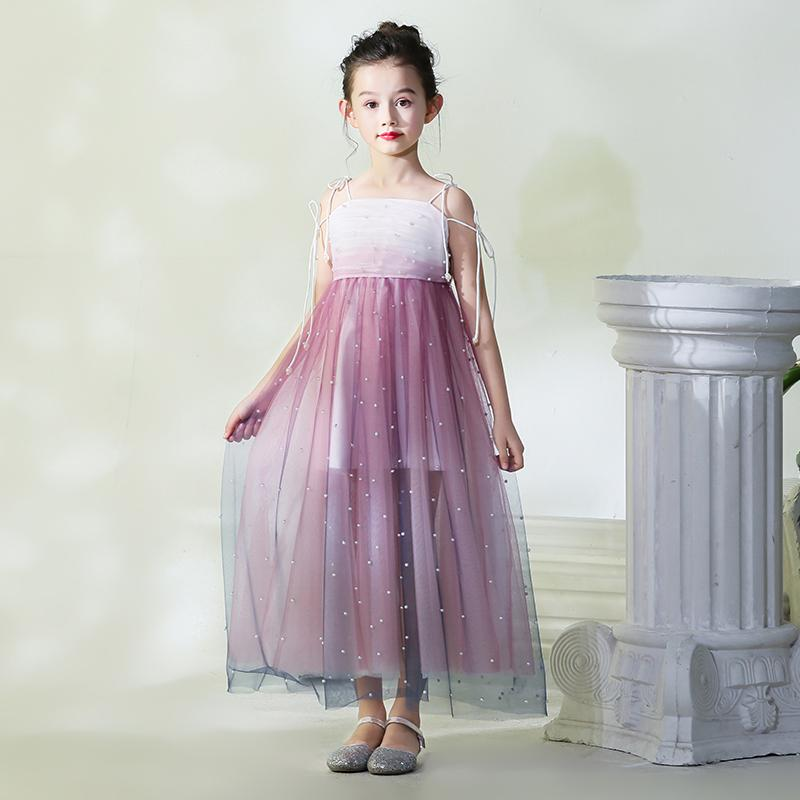 74eb684e Mother Daughter Runway Dress Flower Girls Pearl Evening Ball Gown Mom and Me  Tulle Wedding Dress. sku: 32998484454