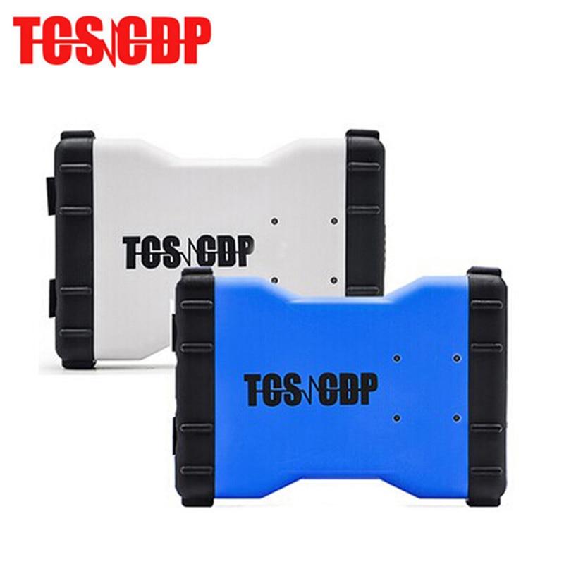 10Pcs/Lot 2014.R3/2015.R3 Keygen Software TCS CDP Pro Plus new vci cdp Bluetooth for Cars/Trucks + Carton box by DHL Free