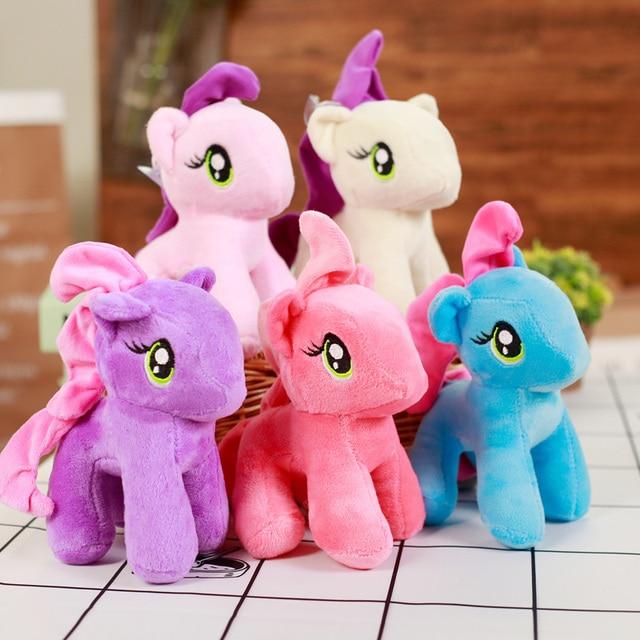 18 cm Little Pony Plush Brinquedo Macio Stuffed Animal Dos Desenhos Animados Brinquedo Cama Pônei De Pelúcia Brinquedos Macios Para Crianças