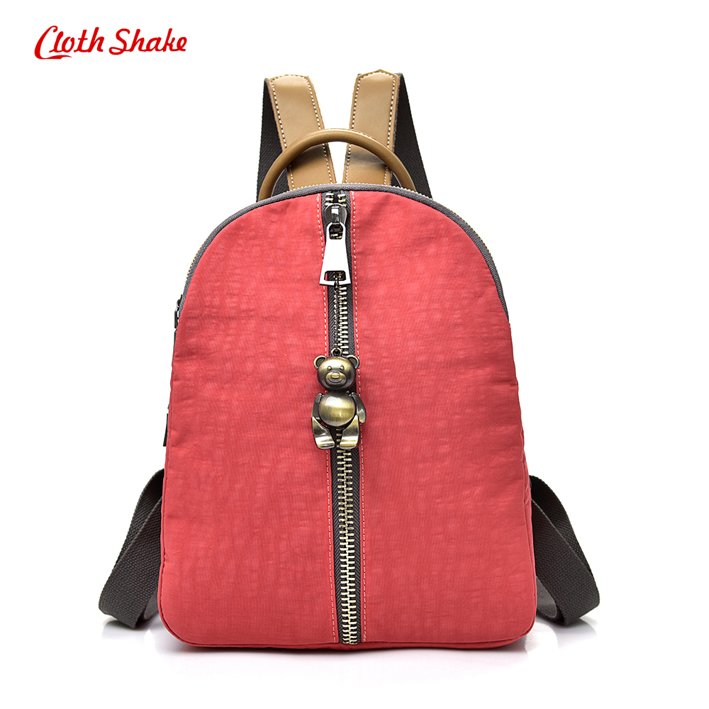 Summer New Women Backpacks Waterproof Nylon Student School Bags Girl Backpacks Female Fashion Travel Bag Ladies mochila feminina