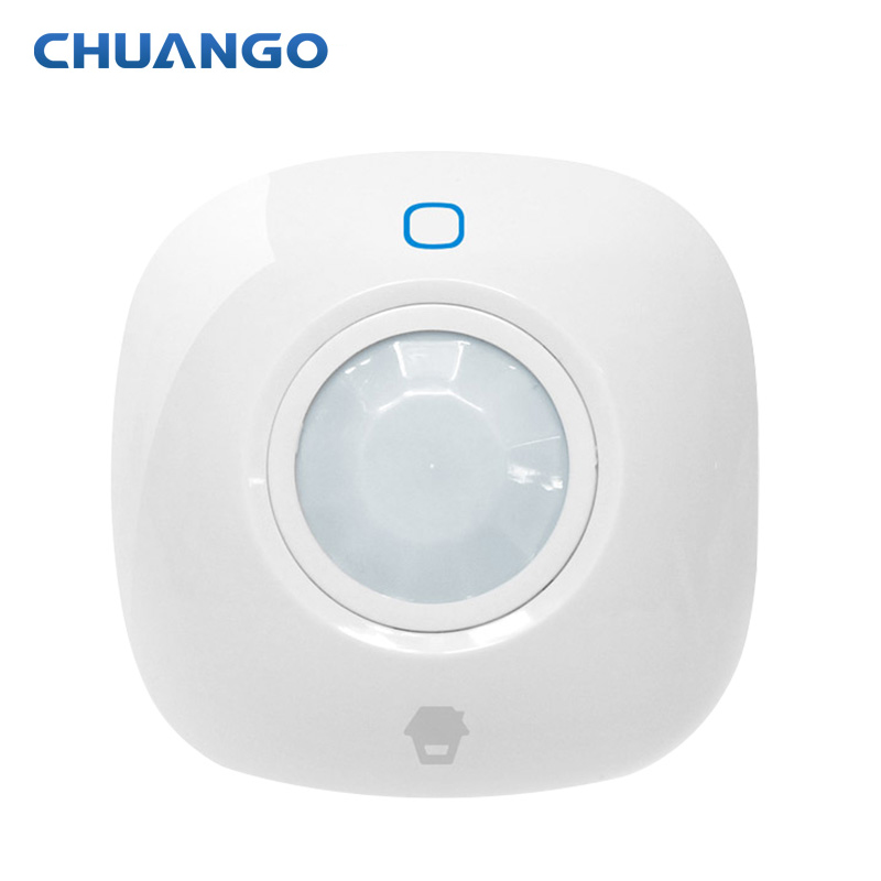Chuango Radio frequency 315MHz PIR-700 Ceiling-Mounted PIR Motion Detector For Home Burglar Auto Alarm System free shipping 315mhz frequency chuango pir 700 ceiling mounted pir motion sensor detector