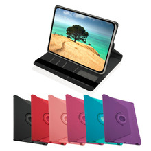 Solid Color PU Leather Tablet Cover Case Shockproof Tablet Stand Cover With 360 Degree Rotation Suitable For Ipad Pro 9.7