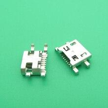 100 шт./лот Micro USB зарядный порт Гнездо док разъем для LG G4 F500 H815 для LG V10 K10 K420 K428 разъем для зарядки