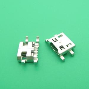 Image 1 - 100PCS/Lot Micro USB Charge Port Socket Jack Dock Plug For LG G4 F500 H815 For LG V10 K10 K420 K428 Charging Connector