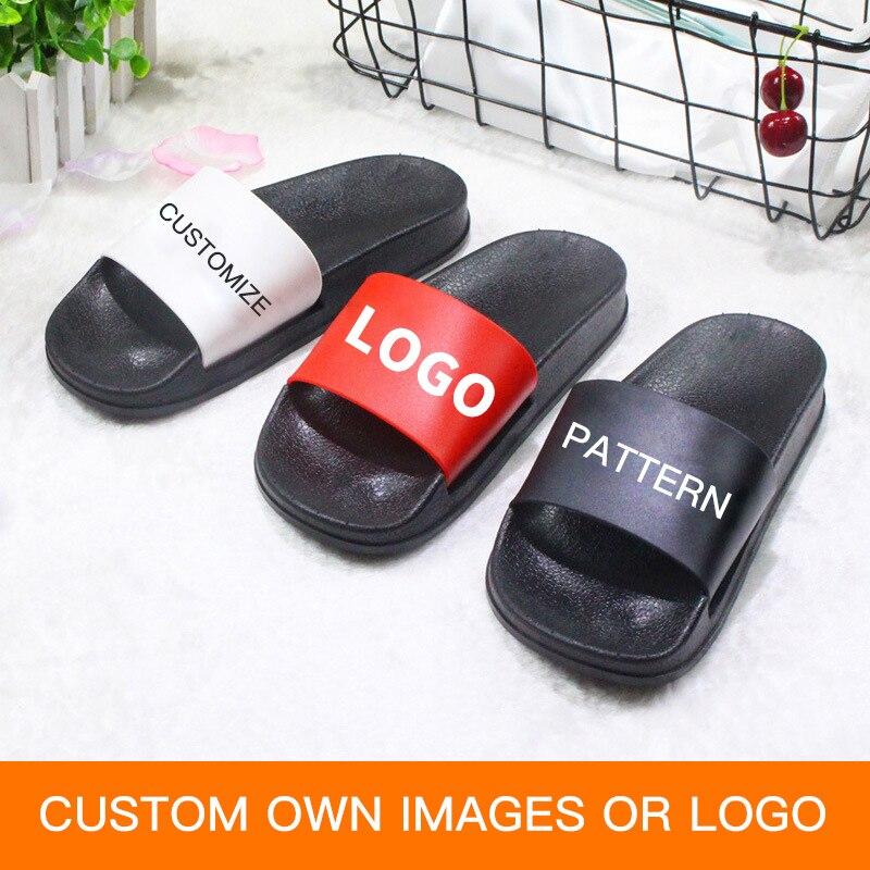 1635d7b9811 GieniG DIY Design Women s Shoes Men Home Bathroom Slippers Couple ...