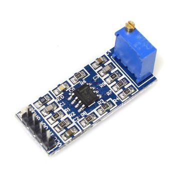 1 pcs LM358 100 Gain Signal amplification module Operational Amplifier DC5-12V image
