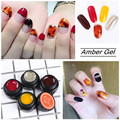 BORN PRETTY Amber Gel Soak Off Gardient Glaze Smudge UV Gel 5g/Box Manicure Nail Art Decoration Tool