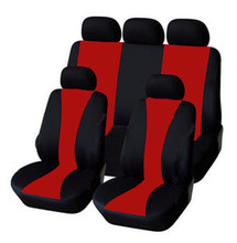 Hot sale Universal Accessories Car Seat Cover 9PCS Fit For Car-Covers Protector seat Chair Ventilation and dust 2016