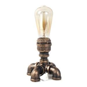 Image 4 - OYGROUP 철 테이블 램프 산업 버튼 스위치 책상 램프 홈 독서 램프 사무실 조명 OY17T11 EU