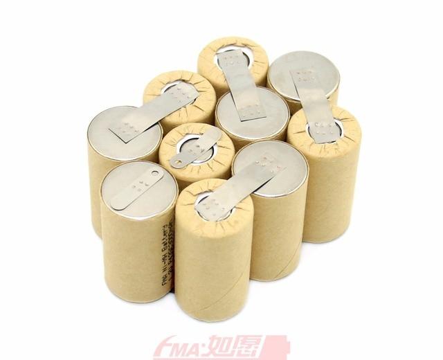 Metabo Screwdriver Drill Battery Ni Cd Rechargeable 12V 1200mAh 1500mAh 1800mAh SCP94