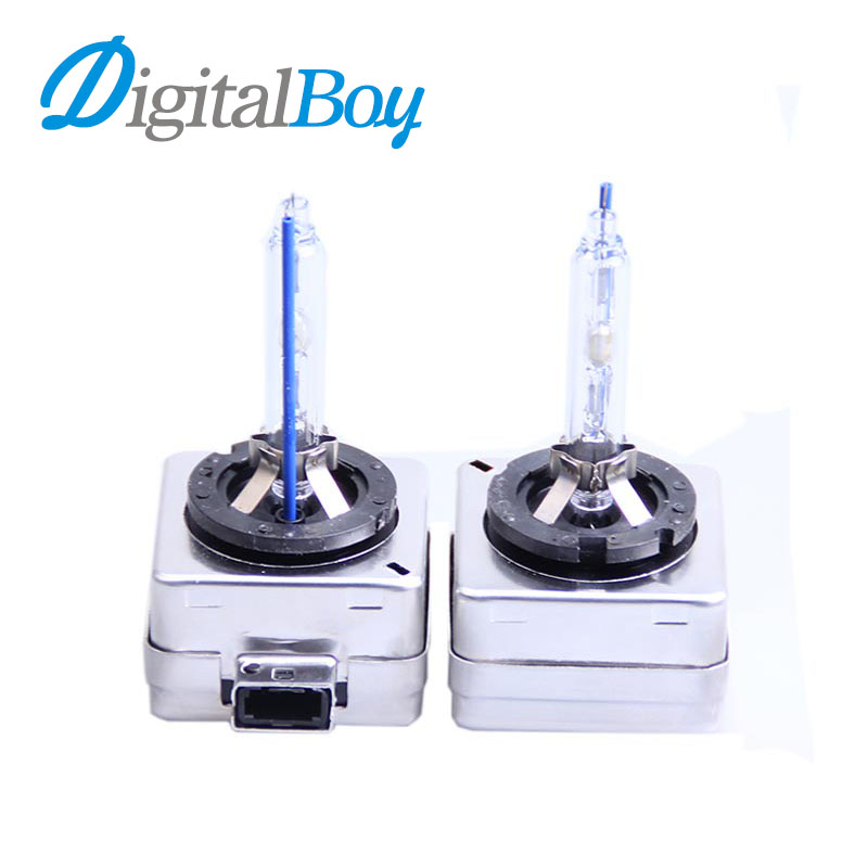 Digitalboy 35W D1S Xenon Bulb Car HID Xenon Lamp Replacement D1S Xenon HeadLight Bulbs 4300K 5000K 6000K 8000K Conversion kit 35w h13 xenon 8000k h4 single bulb car xenon bulbs h3 h7 hidlights h8 h9 h11 xenon hid lights for car 3000k 4300k 5000k