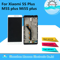 Original LCD Screen Display Touch Panel Digitizer With Frame For 5 7 Xiaomi 5S Plus M5S