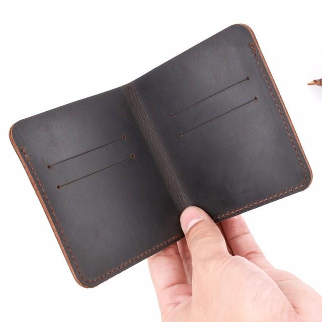 Crazy Horse Leather Men Wallet