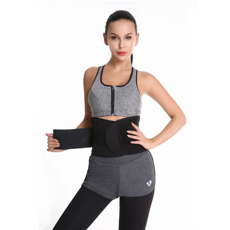 Waist Trainer Workout Tummy Trimmer Slimming Belt Neoprene Sweat Band Body Shaper Wrap Burn Fat Exercise For Weight Reduction in Waist Cinchers from Underwear Sleepwears