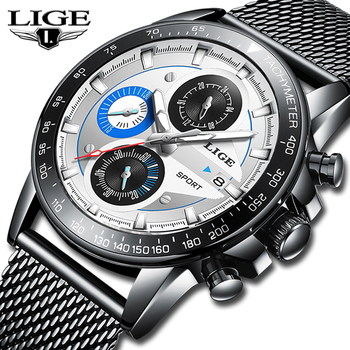505358bc5d01 Reloj hombre 2019 en este momento superior de la marca de lujo de relojes  para hombre impermeable Ultra delgado fecha reloj de pulsera hombre  cronógrafo ...