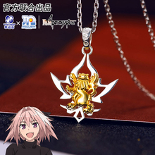 Fate Apocrypha Anime Astolfo Pendant Silver 925 Sterling Manga Role Mordred Cosplay Action figure NEW Arrivals