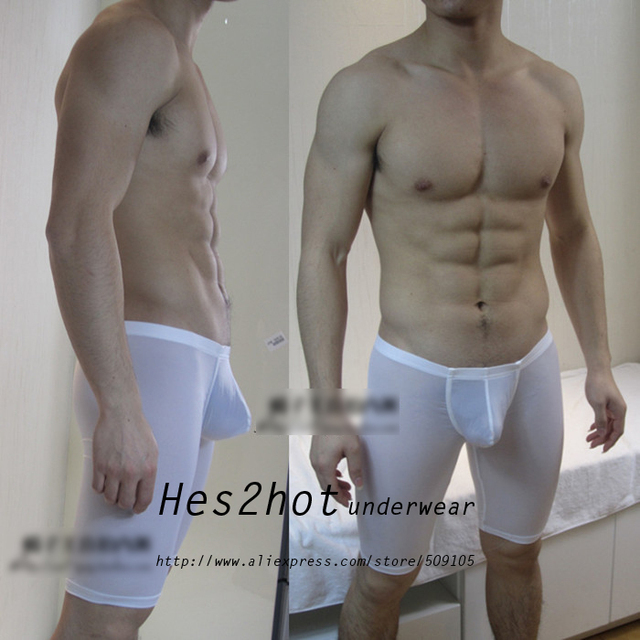 Are men mesh shorts nude
