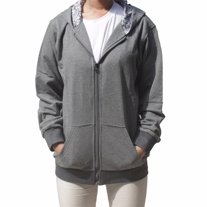 e6afa257f74 Plus Size XXXXXL Shiny Women Men Zip Hoodie with Hood Jacket Coat Outwear  Hooded Sweatshirt in Women  s Hoodies   Sweatshirts