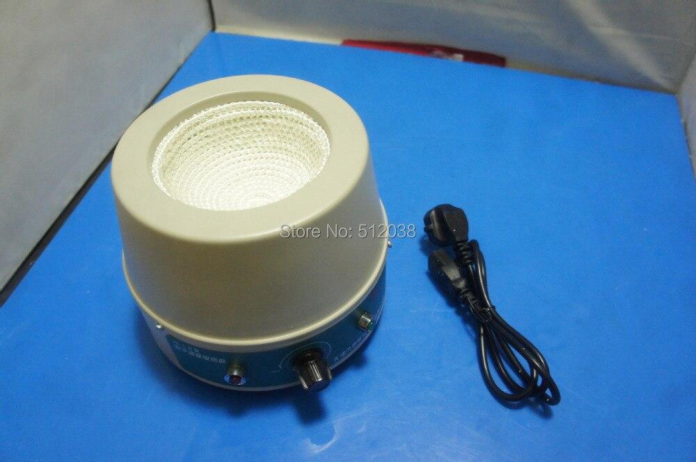 500mL Lab Electronic Temperature Regulation Heating Mantle 98-1B 100ml 130w electric temperature regulation heating mantle temperature adjustable pthw