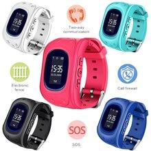 Новый список горячей gps малыш Смарт-часы детские часы детей SOS вызова Расположение Finder Locator Tracker анти потерянный монитор Smartwatch