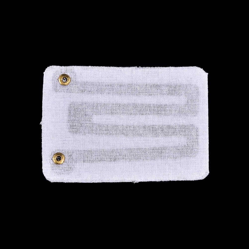 2 adet 3.7V USB ısıtma pedleri DIY USB ısıtmalı eldiven sıcak fare altlığı isı ayak diz karbon fiber isıtmalı