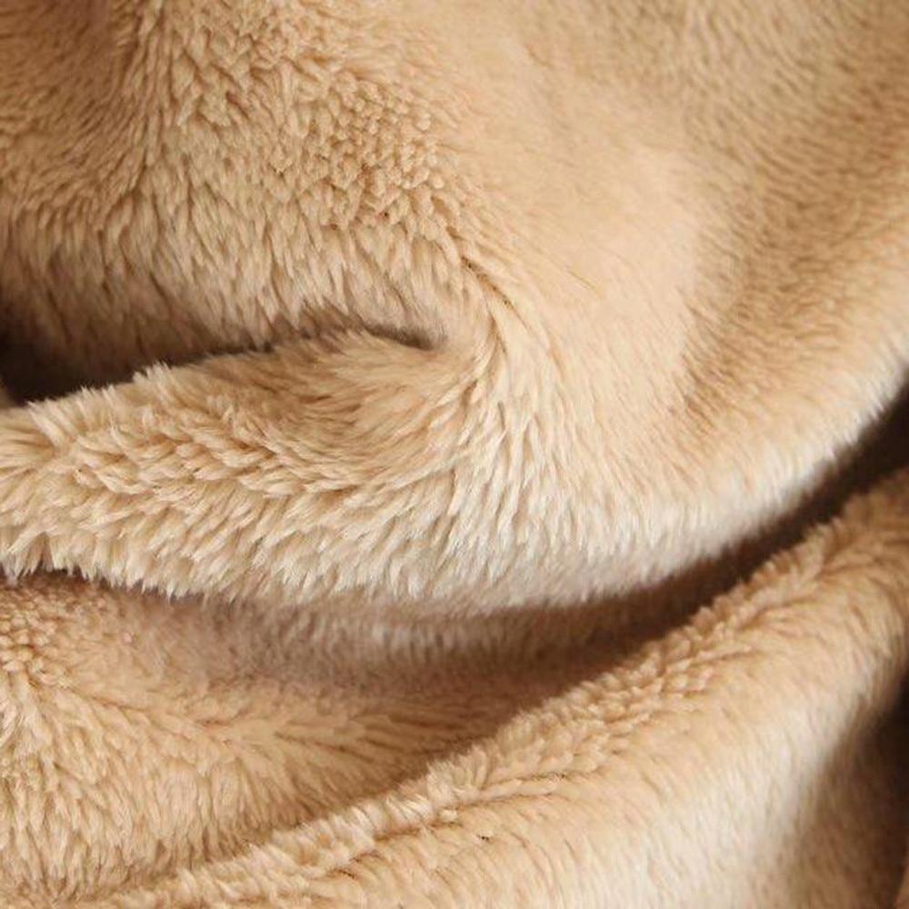 Zip Hiver Chaud Longues Feitong Capuche Femme Manteau À Poche 2018 Vestes Manches Harajuku Court Femmes D'hiver Polaire Nouvelles 77RqFwOT