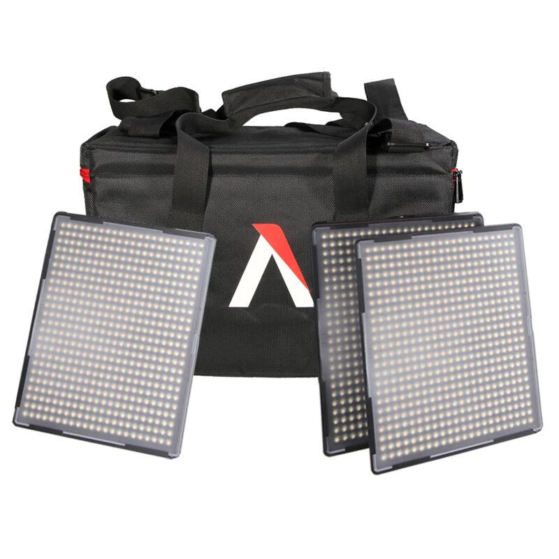Aputure Amaran LED Continuous light AL-528C+AL-528S+AL-528S 528KIT-CSS LED Photography Studio Light kit with Bag for Photography