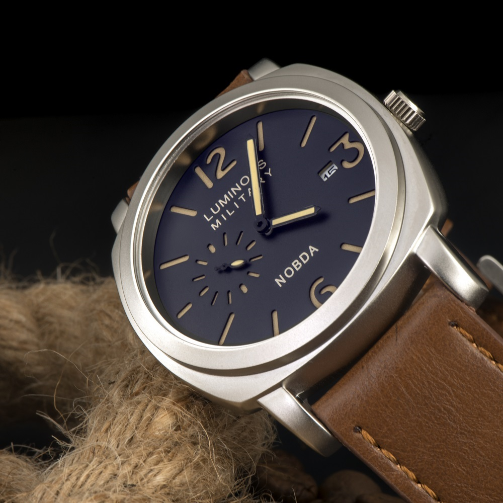 PAN Luminous Military 1950 Style watch