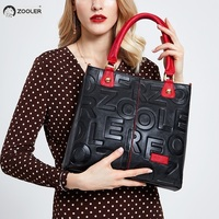 Hot ZOOLER 2019 NEW luxury handbags woman bags designer genuine leather bag women Cow Leather Handbag mochila feminina#D136
