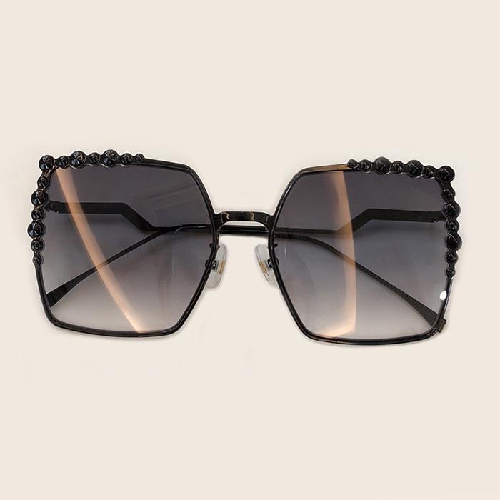 Rahmen Marke Quadrat Sonnenbrille 2 Mit Oculos 5 Mode 1 Frauen Feminino no 3 No Designer Legierung 2019 Sol no 4 no De Qualität Luxus Brillen Box no Hohe tvqw00