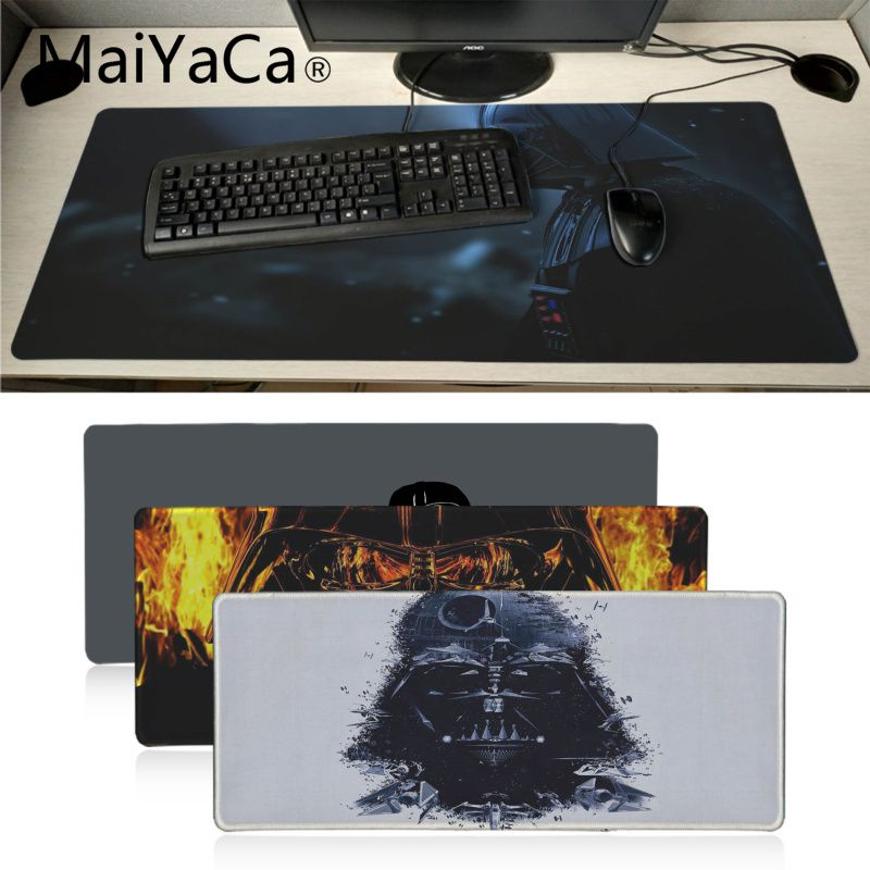 MaiYaCa Star War Darth Vader High Speed New Mousepad Extended Gaming mouse pad Large Mousepads for Dota2 CS Gamer image