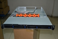 1U 4 disk hot plug box 650MM long IDC hosting monitoring storage box you can turn the double CPU motherboard