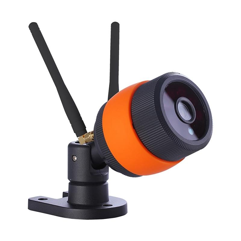 цена на 1080P Waterproof Outdoor IP Camera Wi-FI Wireless Micro TF card Storage CCTV Video Surveillance Camera 15m Night Vision