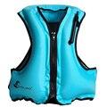 Взрослый надувной плавающий жизнь спасательный жилет, плавающий спасательный жилет для спорта, водного спорта, водного спорта